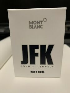 Montblanc JFK Navy Blue 30ml LE Fountain Pen Ink