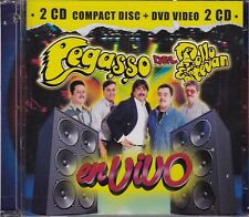 Grupo Pegasso del Pollo Estevan En Vivo CD+DVD New Nuevo Sealed