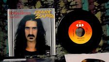 1979 FRANK ZAPPA BOBBY BROWN / BABY SNAKES DUTCH 45 RPM W/ PICTURE SLEEVE SPIFFY