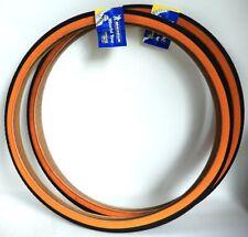 2 Tires Bike Road Michelin World Tour 650x35A or 26x1 3/8 - 35-590 Black/Browns