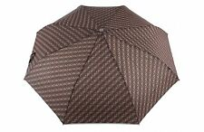 Knirps Fiber T2 Duomatic Nimbus Schirm Regenschirm Braun Brown Neu