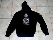 Team NFL Logo Athletics Superbowl XXXIII Football Hood Jacket Sewn Logos M