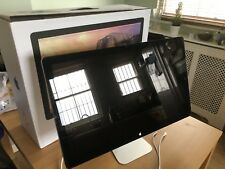 "Apple Thunderbolt Display 27""  Widescreen LED Monitor, built-in Speakers, Webcam"