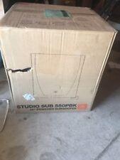 "NEW JBL Studio 550P 10-Inch Powered Subwoofer 550PBK 550 Speaker Sub Woofer 10"""