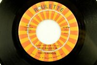 The Flamingos - Doo Wop Soul Roulette 45 RPM - Love Walked In Z1