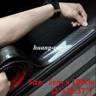 Parts Accessories Carbon Fiber Vinyl Vinyl Warp Car Door Plate Sill Scuff Cover