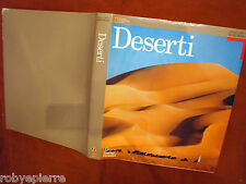 vendo grande libro sui DESERTI NATIONAL GEOGRAPHIC TOURING CLUB ITALIANO good