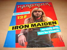 IRON MAIDEN - !!!!HARD ROCK ADVERT!! PUBLICITE / ADVERT