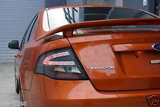 LED Black finish Tail Lights for FPV Ford Falcon FG Model sedan 08 09 13 XR6 XT