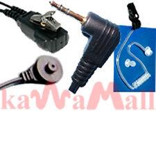 Coil tube ear mic for Motorola T6200 MT6EBD radio