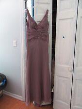 Montage by Mon Cheri Rhinestone/Beaded Plum Womens Gown New Size 10