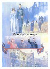 pq0201 - Duke of York & Lady Elizabeth Bowes-Lyon - art postcard