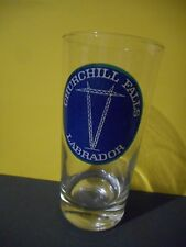 Churchill Falls Labrador Vintage Drink Glass,Newfoundland & Labrador Hydro