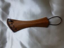 HARP VIOLIN TAILPIECE, PERNAMBUCO, WITH TITANIUM FITTINGS, IMPROVE VIOLIN SOUND!