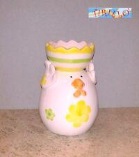 PASQUA - 1 porta uovo o porta candela in ceramica 9,5 cm