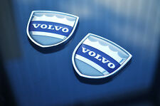 1pair Volvo Car emblem Side Window Fender Badge Decal Stickers for S60 S90 S80