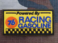 ECUSSON PATCH THERMOCOLLANT aufnaher toppa 76 RACING GASOLINE nascar sport auto