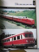 Bahn Lokaufrisse E & Diesel AED 38 MAN vOM ERSTEN dIESELMOTOR ZUM ICE
