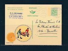 entier postal  carte Belgique pub  fromagerie Belge  voyagée en 1971