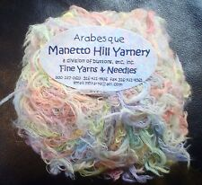 Manetto Hill Yarnery Arabesque Beautifully Colored Pastel Eyelash Yarn