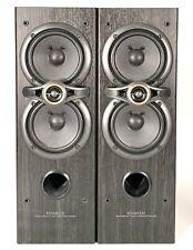Par de Retro Kenwood S-F100 serie 21 FRONTAL HIFI altavoces de sonido envolvente 100w