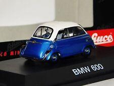 Bmw 600 Metallic Blue White Schuco 2342 1:43