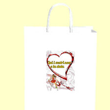 100 Wedding Bag personalizzate ARES 51 cm 18x8x24 - + omaggi