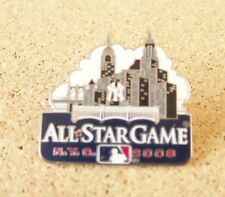 2008 AS All-Star Game pin New York skyline NY Yankees NYC