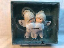 NIB 2008 DEPT 56 ANGEL GIFTS ENDCAP 802001, FRIEND FIGURINE, SNOWBABIES ORNAMENT