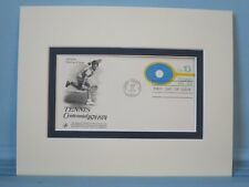 1974 - The 100th Anniversary of Tennis & First Day Cover of its own stamp