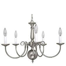 Capital Lighting 5 Light Chandelier, Matte Nickel - 3125MN