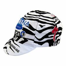 Domina Vacanze Specialized Copollini Zebra team Cycling Cap Made in Italy