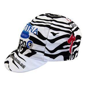 Domina Vacanze Specialized Copollini Zebra team Cycling Cap Made in Italy