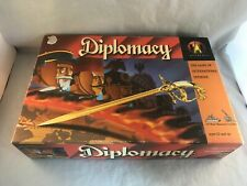 Hasbro/Avalon Hill 1999 Diplomacy Game Complete 140 Metal Miniatures Very Nice!