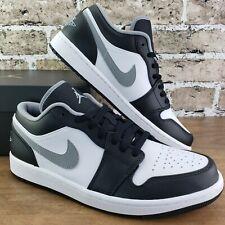 New listing Nike Air Jordan 1 Low Black White Grey Shadow (2021) 553558-040 Men's Size 14