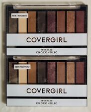 Lot of 2 New Covergirl TruNaked Scented Eye Shadow Palette Chocoholic Sealed