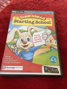 Jump Ahead Starting School PC CD ROM GAMES