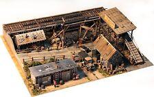 Fine Scale Miniatures #19 I.M. Dunn Co. Coal Yard Wood & Metal Kit