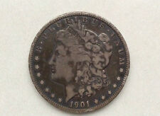 1901-O Morgan Silver Dollar U.S. Coin A0132