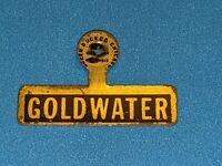 Vintage Barry GOLDWATER Metal 1964 campaign metal fold pin button political