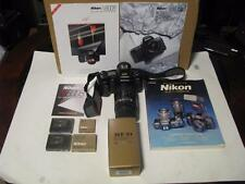 Nikon N8008 35mm SLR Film Camera w Nikkor 35-135mm Lens Accessories Bag & MORE