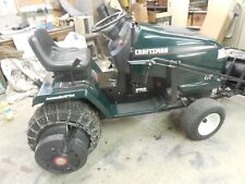 "Craftsman 20.0 Hp Electric Start 46"" Lawn Mower Garden Tractor"