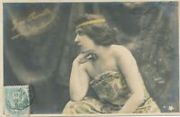Jane Kerville Walery Photographers Paris Real Photo Postcard –Stage Actress- udb