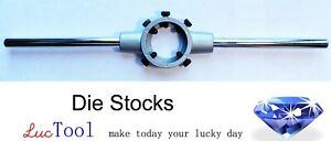 """1 1/2"""" OD Die Stock Handle, Die Stock Holder for 38 mm Round Die"""