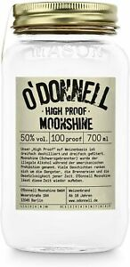 O'Donnell Moonshine High Proof 50% 0,7 l / 0,35 l ! PORTOFREI