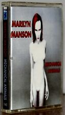 """Marilyn Manson """"Mechanical Animals"""" Rare Russian Cassette! Excellent condition!"""