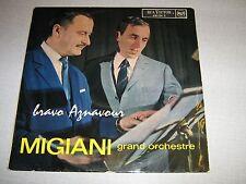 Migiani 33 tours français Bravo Aznavour