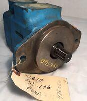EATON VICKERS 20VQ11B-151C30R Hydraulic Vane Pump  02-334258-3  Splined Shaft