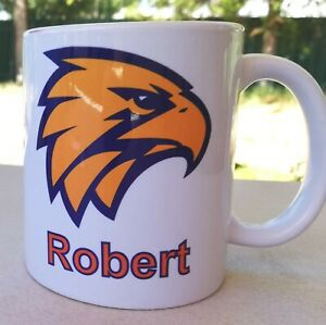 Personalised Mug- West Coast Eagle Die Hard Fan, Your Name On It