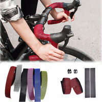 Bicycle Handlebar Tape Road Bike Silica Gel Tape Soft Breathable Handlebar Tape